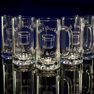 Beer Mugs (16 oz.) - Personalized