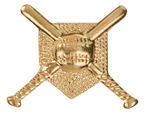 Baseball Lapel Pin |  Letter Jacket Chenille Pin  - CHEN110