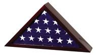 Memorial Flag Rosewood Case - Premium