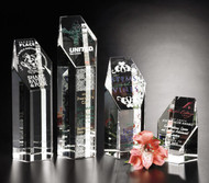 Citadel Crystal Award - 4 Sizes