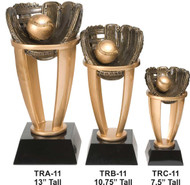 Baseball or Softball Tower Trophy - 3 Sizes