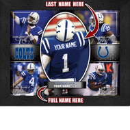 Indianapolis Colts Action Collage Print - Personalized