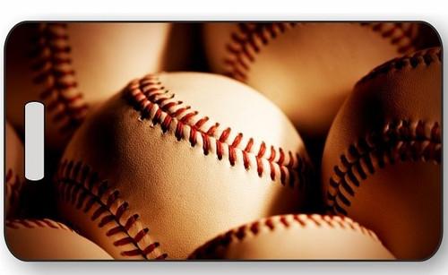 Baseball Luggage / Bag Tag G04