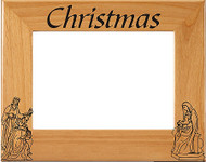 Christmas Nativity Picture Frame - Personalized