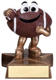 Football Lil' Buddy Trophy | Smiling Football Award | 4 Inch Tall