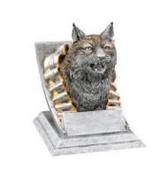 Bobcat Spirit Mascot Trophy