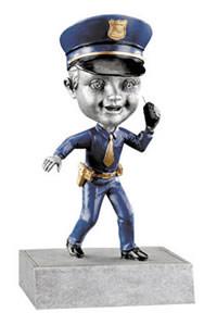 Policeman Bobblehead Trophy