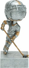 Ice Hockey Bobblehead Trophy