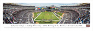 Lafayette vs. Lehigh Rivalry (150th Rivalry) Panorama Print - Unframed