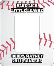 Baseball Picture Frame - Baseball