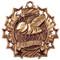Spelling Ten Star Medal - Gold, Silver or Bronze | Spelling Bee 10 Star Medallion | 2.25 Inch Wide Spelling Ten Star Medal - Bronze