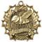 Spelling Ten Star Medal - Gold, Silver or Bronze | Spelling Bee 10 Star Medallion | 2.25 Inch Wide Spelling Ten Star Medal - Gold