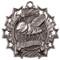 Spelling Ten Star Medal - Gold, Silver or Bronze | Spelling Bee 10 Star Medallion | 2.25 Inch Wide Spelling Ten Star Medal - Silver
