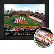 Baltimore Orioles Stadium Print - Personalized