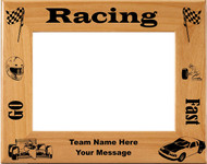 Racing Picture Frame - Personalized