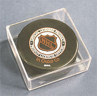 Hockey Puck Holder - Clear Square - Clearance