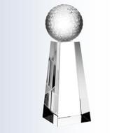 Crystal Golf Championship Trophy