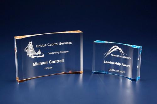 Crescent Acrylic Award
