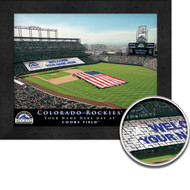 Colorado Rockies Stadium Print - Personalized