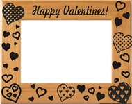 Happy Valentine's! Picture Frame
