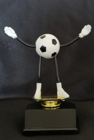 Soccer Bendable Dude Trophy | Fútbol Award - CLEARANCE