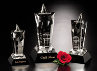 "Acclaim Star Crystal Trophy | Star Corporate Award - 8"", 10"" & 12"""