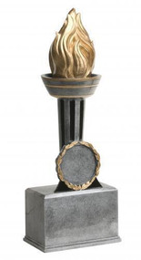 Victory Torch Trophy | Flame of Victory Award - 9 or 12 Inch Tall