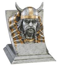 Viking Spirit Mascot Trophy | Engraved Viking Award - 4 Inch Tall