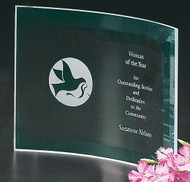Belmont Crescent Corporate Award - Small 8""