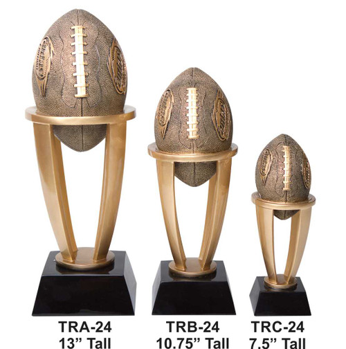 Fantasy Football Tower Trophy | FFL Award | 7.5, 10.75 and 13 Inch Tall