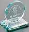 "Cromwell Circle Crystal Corporate Award - Small 4"" Dia."