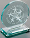 "Cromwell Circle Crystal Corporate Award - Medium 6"" Dia."