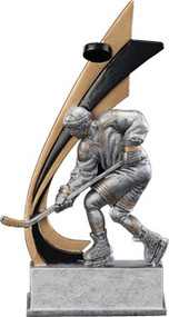 Ice Hockey Signature Series Live Action Resin Trophy