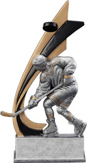 Hockey Signature Series Live Action Resin Trophy - Clearance