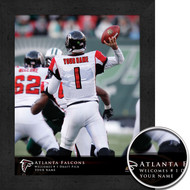 Atlanta Falcons QB Hero Print - Personalized