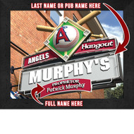 Los Angeles Angels Hangout Print - Personalized