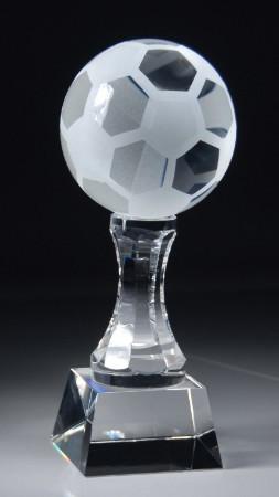 Soccer Ball Crystal Trophy | Fútbol Award