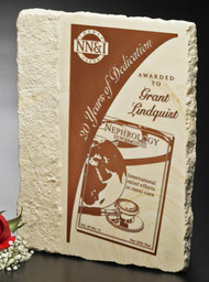 Accent Limestone Plaque Corporate Award - 3 Sizes