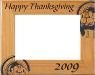 "Thanksgiving ""Turkey"" Picture Frame - Personalized"