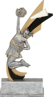 Cheerleader Signature Series Live Action Resin Trophy - Clearance