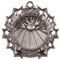 Bowling Ten Star Medal - Gold, Silver or Bronze | Bowler 10 Star Medallion | 2.25 Inch Wide Bowling Ten Star Medal - Silver