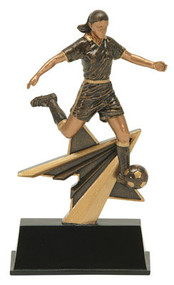 Power Soccer Star Award - Female | 7 Inch - Clearance