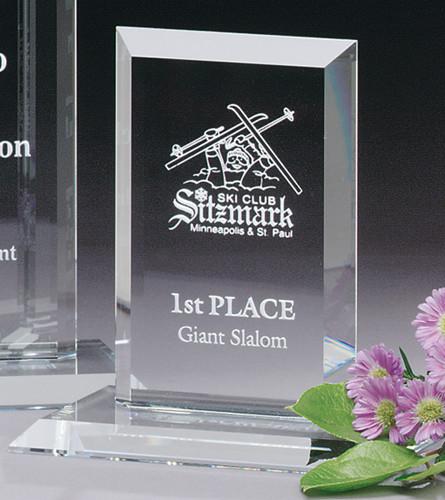 """Argyle Crystal Award - Small 6"""""""