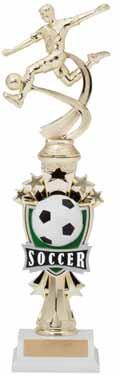 Soccer Sport Motion All Star Trophy - Male / Female | Fútbol Award