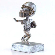 "Football ""Rock 'n Bop"" Bobblehead Trophy 