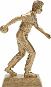 Bowling Signature Series Male Bowler - Gold | 8.25 Inch - CLEARANCE