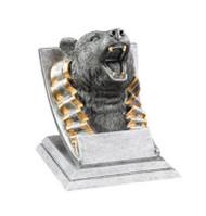 Bear Spirit Mascot Trophy | Engraved Bear Award - 4 Inch Tall
