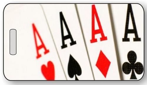 Poker Luggage / Bag Tag G10