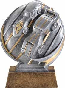Pinewood Derby Motion Extreme 3D Trophy