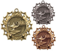 uate Ten Star Medal - Gold, Silver & Bronze   Graduation 10 Star Award